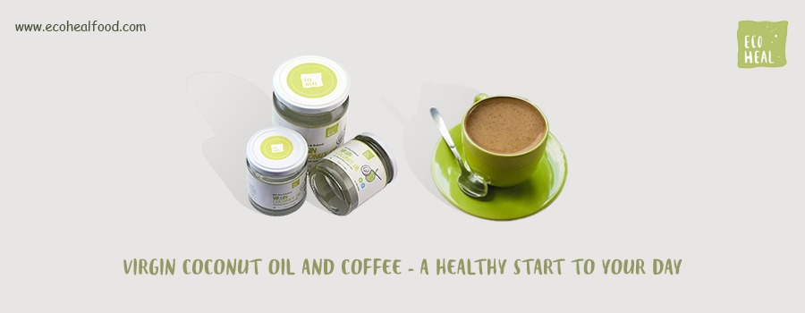 Virgin Coconut Oil and Coffee