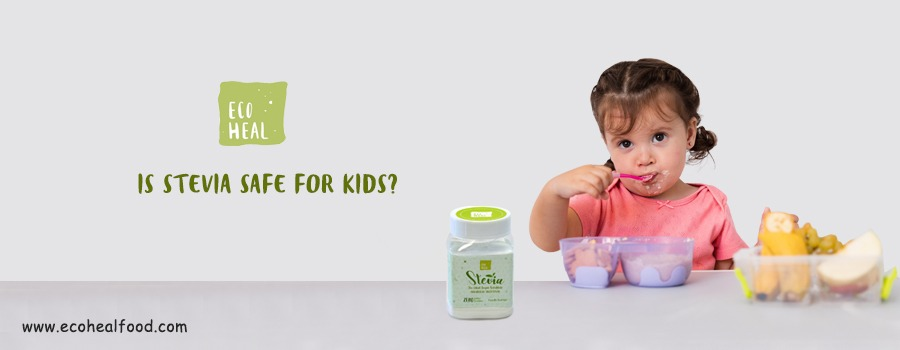 is stevia safe for kids